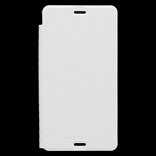 Roxfit Made for Xperia Slimline Standing Book Case for Xperia Z3 - Carbon White
