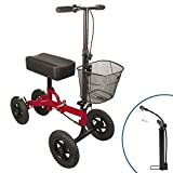Best Knee Walkers - All Terrain Knee Scooter with Free Air Pump Review