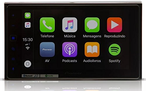 DVD Pioneer Multimídia SPH-DA138TV Tela 6.2 Bluetooth, Pioneer, SPH-DA138TV, CD e MP3 Player