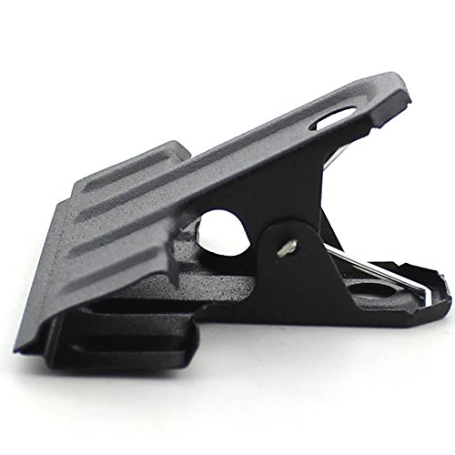 Zicome 62mm Black Large Metal Binder Clips Bulldog Clips