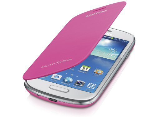 info for 4f64a 0b250 Samsung Galaxy S3 mini Case S View Flip Cover Folio - Pink (Discontinued by  Manufacturer)