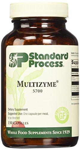 Proceso estándar Multizyme 150 Cápsulas
