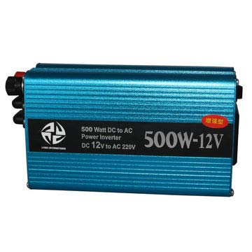 Car Modified Sine Wave Power Inverter 500W DC 12V to AC 220V Continuous Work CPU Intelligent Control