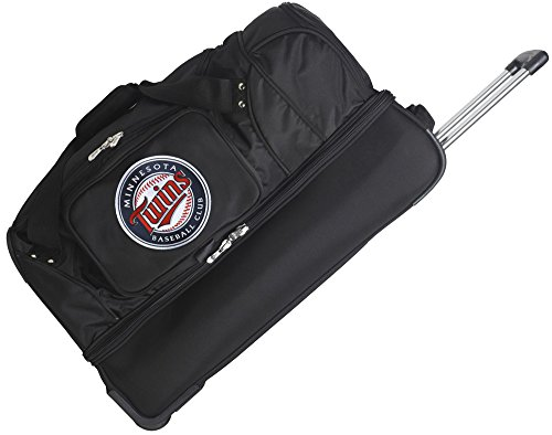 MLB Minnesota Twins Rolling Drop-Bottom Duffel by Denco