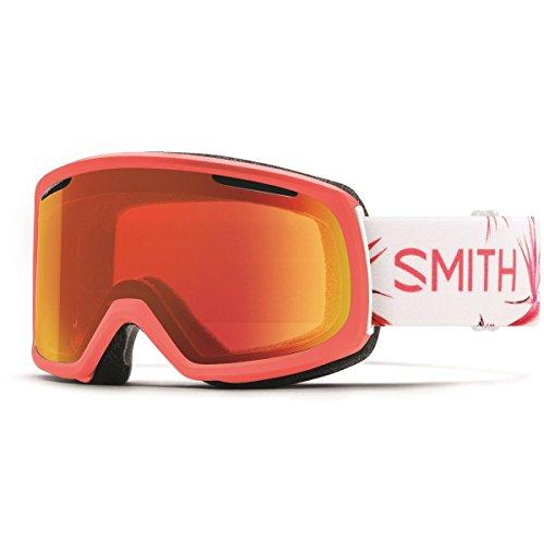 Smith Riot Women's Goggles Sunburst Zen ChromaPop Everyday Red Mirror (Ski Riot)
