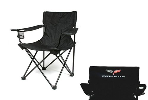 Corvette Travel Chair with C6 Logo