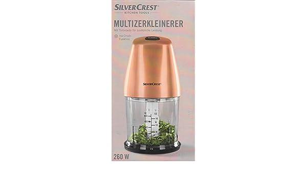 Unbekannt Silvercrest® Multi – Trituradora SMZ 260 – con botón Turbo, función de Hielo y Varilla en Juego, 260 W: Amazon.es: Hogar
