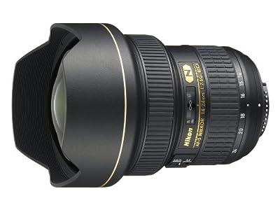 Nikon 14-24mm f/2.8G ED AF-S Nikkor Wide Angle Zoom Lens by Nikon