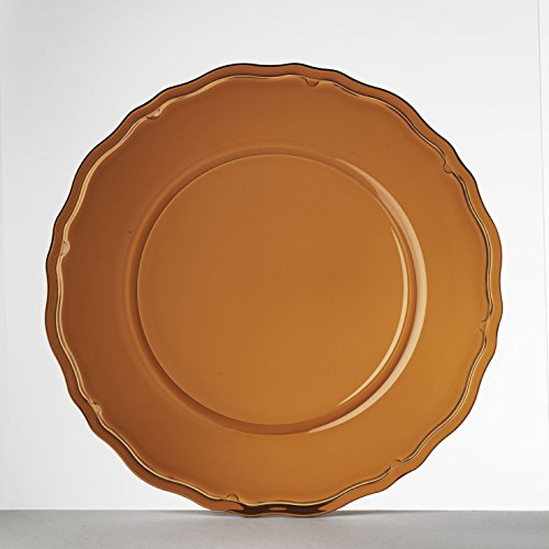 Mario Luca Giusti Set 6 Giotto Plate Amber by Mario Luca Giusti (Image #4)