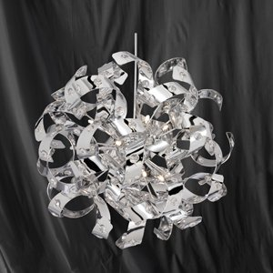 Curls 6 light halogen chrome metal ceiling pendant light 5816 6cc curls 6 light halogen chrome metal ceiling pendant light 5816 6cc aloadofball Choice Image
