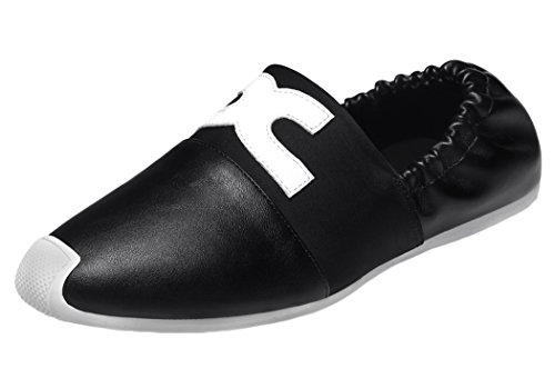 Guciheaven 2015 Spring Style Low Top Comfortable Flats Shoes (8 B(M)US, Black)