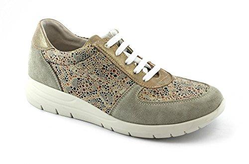 Beige Shoes Grunland Beige SC3817 Call Sneacker Woman Lace qEI7vIfw