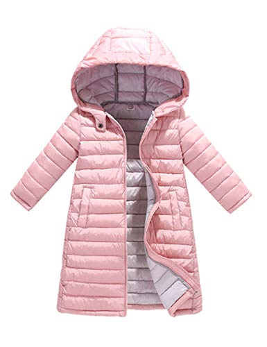 with Hooded Coat Down Jacket Padded Warm Cotton Outerwear Slim Girls Puffa Long Big Child Quilted Pink Winter Boys fit Jacket BESBOMIG w7XSvqIaCc