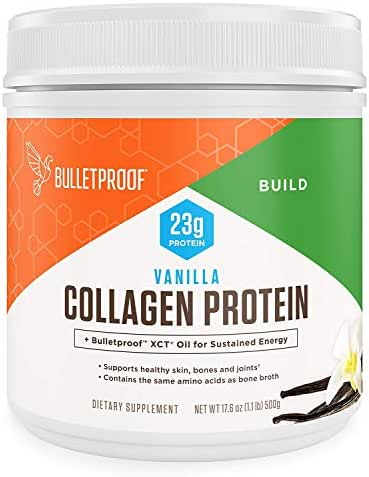 BulletProof Collagen Protein Powder, Vanilla, 2 Count