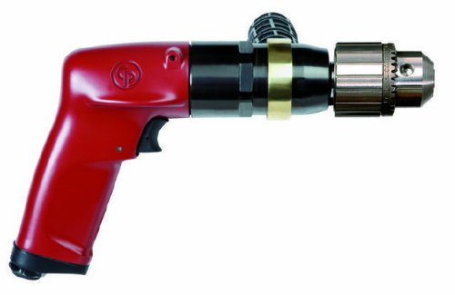 Chicago Pneumatic Tool CP1117P05 Heavy Duty 1 HP 500 RPM Industrial Drill with 1/2-Inch Key Chuck