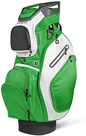 Sun Mountain 2018 C-130 No Logo Cart Bag – Gunmetal Lime White – Closeout