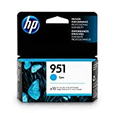 HP CN050AN#140  951 Ink Cartridge, Cyan (CN050AN) for  Officejet Pro 251, 276, 8100, 8600, 8610, 8620, 8625, 8630…
