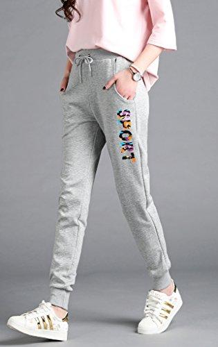 Lixmee - Pantalón - para mujer _606Grey