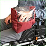 Electric Wheelchair Panel Kover - Maroon by Essential Aids