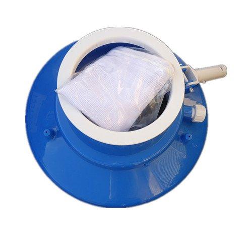 Heavy Duty Pool Spa Leaf Eater Gulper Vacuum Cleaner With