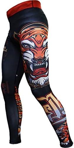 圧縮 パンツ Compression Pant For Men Hardcore Training Tiger