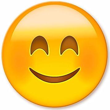 Emoji Emoticón de madera, de 16 cm de diámetro – Smile: Amazon.es ...