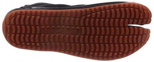 Ninja shoes, AIR JOG 6, Jika TabiSize: 25.0 cm (US size 7 ), Color: Black by Marugo (Image #4)