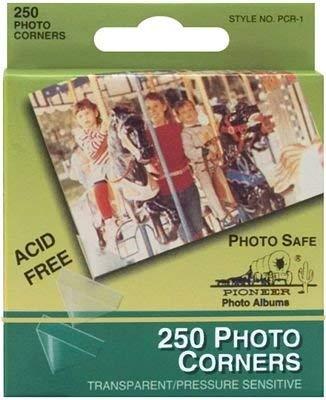 (Pioneer Photo Albums PCR1 Photo Corners 250 Count)