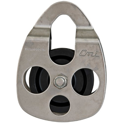 Cable-Able Pulley - 2 3/8 Sides Blue/Stainless Steel by CMI