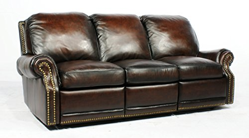 Barcalounger Premier ll Sofa Recliner Stetson Coffee 356600540741