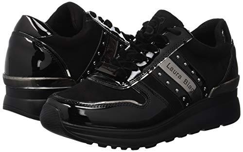 Black 01 Gymnastikschuhe Damen Biagiotti 5071 EA Laura Schwarz TxqzYw0yH
