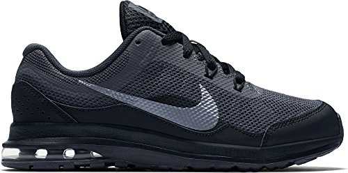 Price comparison product image Nike Boy's Air Max Dynasty 2 Running Sneakers Anthracite / Metallic Cool Grey / Black 2Y