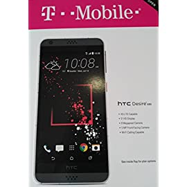 T-Mobile Prepaid - HTC Desire 530 4G LTE with 16GB Memory Prepaid Cell Phone - White 36 Brand new, sealed, locked to T-Mobile, fast shipping from FL