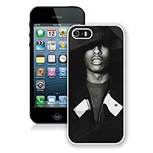 Unique Photo Case,ASAP Rocky 6 White Custom iPhone 5s Cover Case