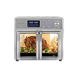 Kalorik 26 QT Digital Maxx Air Fryer Oven with 9 Accessories, Roaster, Broiler, Rotisserie, Dehydrator, Oven, Toaster…