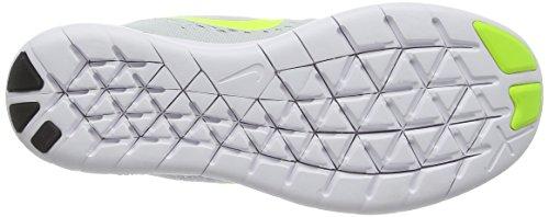 Nike Kvinna Fri Rn Ren Platina / Volt / Svart / Grå Varg