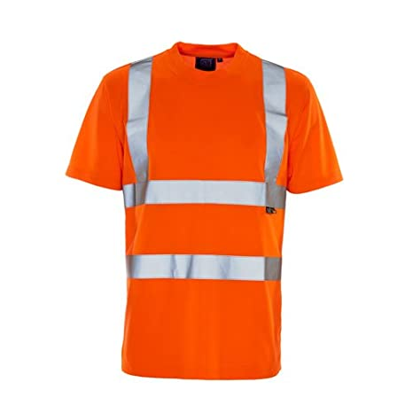 3X-Large Orange Supertouch 39T86 Bird Eye Hi Vis T-Shirt