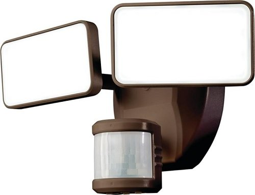 Bz Security Light - HEATHCO HZ-5867-BZ Light LED Motion,