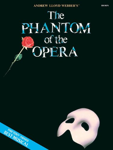 The Phantom of the Opera Horn (Book Only)