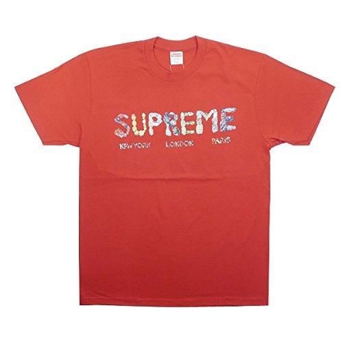 SUPREME シュプリーム 18SS Rocks Tee Tシャツ 赤 M 並行輸入品 B07F5RFH93