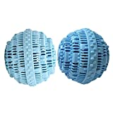BERON Set of 2 Eco-Friendly Wash Ball Super Laundry Balls for 1500 Washings