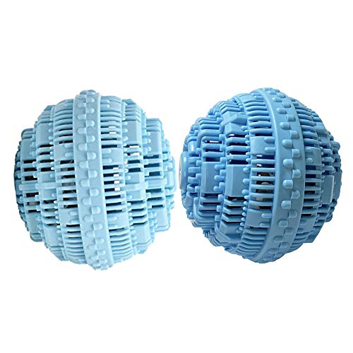BERON Set of 2 Eco-Friendly Wash Ball Super Laundry Balls for 1500 Washings ()