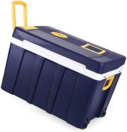 50L 12V DC 220V AC冷凍暖房車の冷蔵庫ミニ冷蔵庫小さな家のマイクロ冷蔵庫車のデュアルユース冷蔵庫寸法:61.5 * 42 * 42cm内部寸法:49.5 * 30.5 ** 33cm