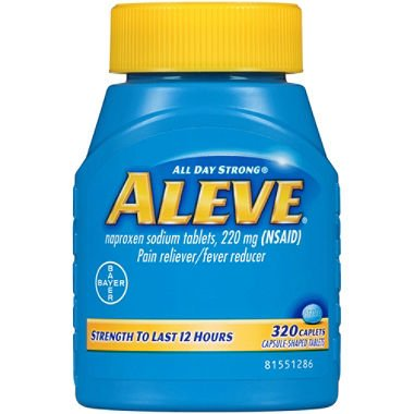 Aleve Naproxen Sodium Tablets 1Pack (320 Count Each ) Nm@kSd