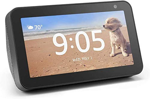 Echo Show 5 - Charcoal and 4 months of Amazon Music Unlimited FREE  w/ autorenewal