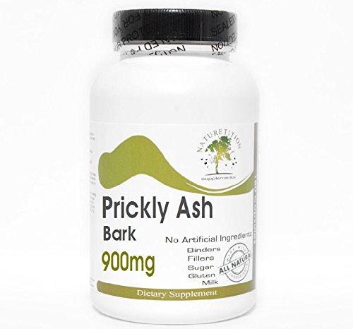 Prickly Ash Bark 900mg ~ 180 Capsules - No Additives ~ Naturetition Supplements (Bark Ash Prickly Powder)