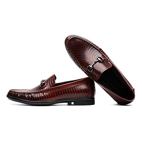 ... Herren Lederschuhe Frühling Herren Lederschuhe Freizeitschuhe Business  British Style Tide faule Schuhe Herrenschuhe ( Farbe ...