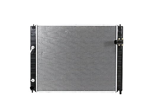 Radiator - Pacific Best Inc For/Fit 13079 09-13 Infiniti FX35 (WITH Tow Package) 09-13 FX50 Automatic Transmission Plastic Tank Aluminum Core