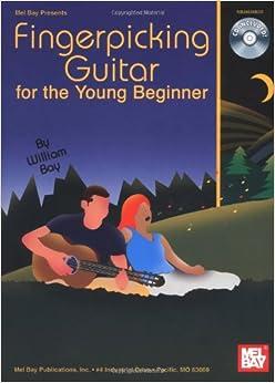 Mel Bay Fingerpicking Guitar for the Young Beginner