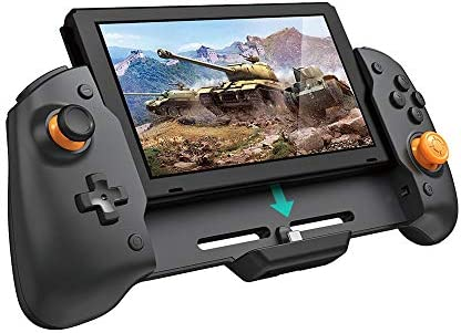 Wireless Controller for Nintendo Switch, Ergonomic Controller for Nintendo Switch with Gravity Induction of Six-Axis Gyroscope, Double Motor Vibration and Screen Capture Button
